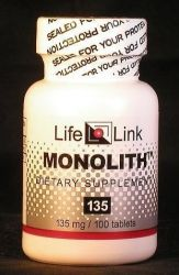 Monolith (Replaces Lithium Orotate) 135mg - 100 - Tablet