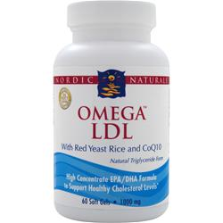 Omega LDL 60 sgels Nordic Naturals