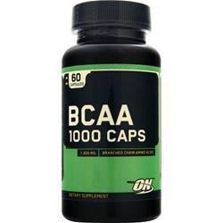 Optimum Nutrition BCAA  -- 1000 mg - 60 Capsules