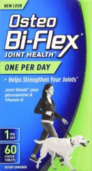 Osteo Bi-Flex Glucosamine 60 Caplets HCI & Vitamin D3 Dietary Supplement Coated