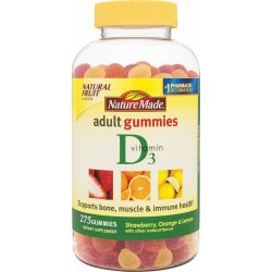 Nature Made Vitamin D Adult Gummies, 275 Count
