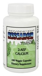 2-AEP CALCIUM 500 mg,100 Veggie Capsules-Advanced Research NCI (Dr. Hans Nieper)