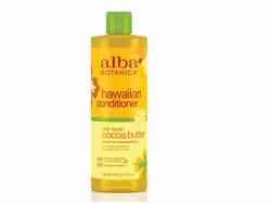 Alba Botanica Real Repair Cocoa Butter Hawaiian Conditioner, 12 oz