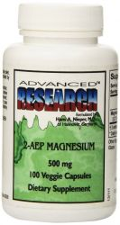 2AEP Magnesium 100 Capsules, 500 Mg,  NCI Advanced Research Dr. Hans Nieper