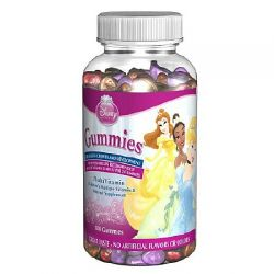 Disney Princess Multivitamin Gummies 180 Gummies