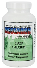 2-AEP CALCIUM 500 mg 200 capsules Advanced Research NCI (Dr. Hans Nieper)