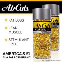 AbCuts CLA Belly Fat Formula, 120 Softgels