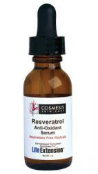 Resveratrol Anti-Oxidant Serum  1 oz  Life Extension