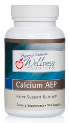 Calcium AEP Wellness Resources 90 caps