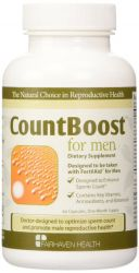 CountBoost for Men 60 count  from Fairhaven Health