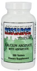 Calcium Arginate with Aspartate 200 Tbs. Advanced Research NCI (Dr. Hans Nieper)