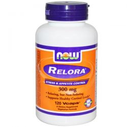 NOW Foods Relora -- 300 mg - 120 Vcaps