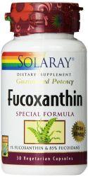 Solaray Fucoxanthin Special Formula 400 mg,   30 CapsulesVegetarian