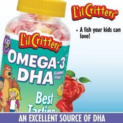 L'il Critters® Omega-3 DHA Gummy Fish™ 180 Gummy Fish