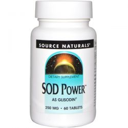 Source Naturals, SOD Power, 250 mg, 60 Tablets By Source Naturals