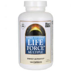 Life Force Multiple No Iron - 180 Caps - Source Naturals