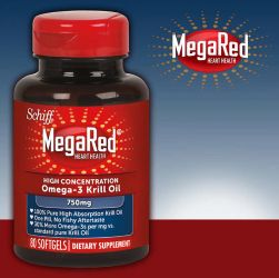 Schiff MegaRed High Concentration Krill Oil, 750 mg., 80 Softgels