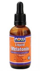 Liquid Melatonin 2 fl oz: Now Foods