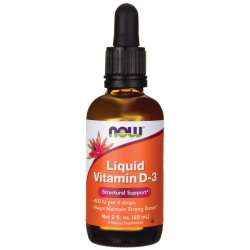 NOW Foods Vitamina líquida D-3 5000 IU 2 oz