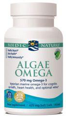 Nordic Naturals Algae Omega -- 60 Softgels