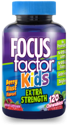 Focus Factor® Kids Extra Strength 120 TABLETS