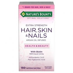 Extra Strength Hair Skin and Nails Softgels - 150 Count
