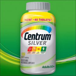 Centrum® Silver® Adults 50+  325 Tablets