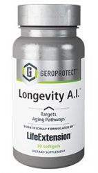 GEROPROTECT™ Longevity A.I.™ 30 softgels Life Extension