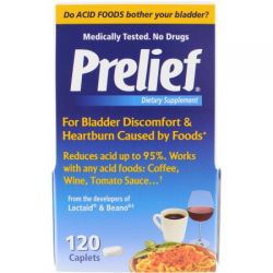 Prelief Dietary Supplement Tablets, 120 Ct