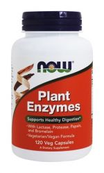 Plant Enzymes - 120 Vegetarian Capsules by NOW Foods