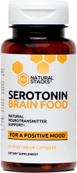Serotonin Brain Food 60 Capsules Natural Staks