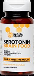Serotonin Brain Food 60 Capsules Natural Staks