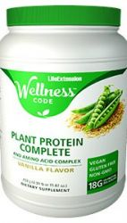 Wellness Code™ Whey Protein Concentrate - Vanilla -  500 grams (1.10 lb. or 17.64 oz.)