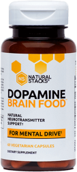 Dopamine Brain Food™ For Mental Drive 60 Vegetarian Capsules
