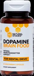 Dopamine Brain Food™ For Mental Drive 60 Vegetarian Capsules