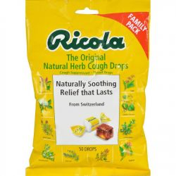 Ricola Cough Drops - Natural Herb - 50ct