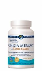 Nordic Naturals Omega Memory with Curcumin, 60 Count
