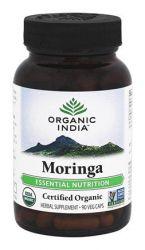 Organic India ™ Moringa Orgânica 350 mg 90 Capsules