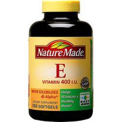 Nature Made® Vitamin E 400 IU, 350 Softgels