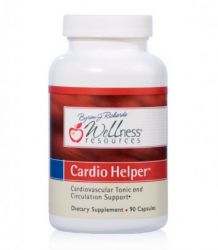 Cardio Helper ™ com Resveratrol Wellness Resources