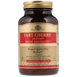 Solgar, Tart Cherry, 1000 mg, 90 cápsulas vegetais