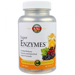 KAL, Super Enzymes, 60 Tablets
