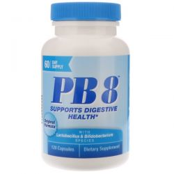Nutrition Now, PB8, Original Formula, 120 Capsules