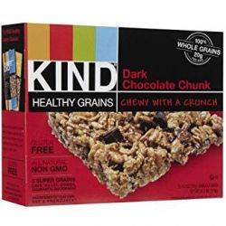 KIND Healthy Grains® Dark Chocolate Chunk, Gluten Free Granola Bars - 5ct