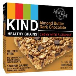 KIND Almond Butter Dark Chocolate Granola Bars - 6.2oz