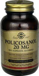 Solgar – Policosanol 20 mg, 100 Vegetable Capsules