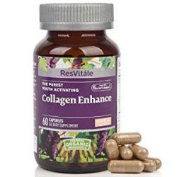 ResVitle Collagen Enhance 60 Vegetarian Capsules