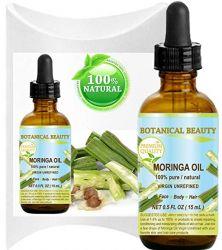MORINGA OIL -  100% Pure / Natural / Undiluted/ 0.5 Fl.oz.- 15 ml.   Moringa oleifera WILD GROWTH Himalayan.