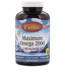 Maximum Omega 2000 - 2,000 MG Omega 3