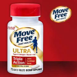 Schiff Move Free Ultra Triple Action Joint Supplement, 75 Tablets